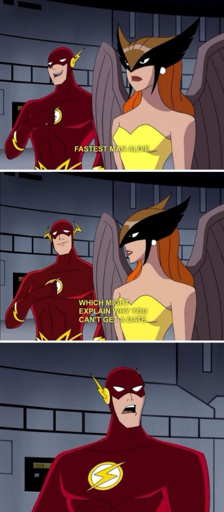 Justice League-joke