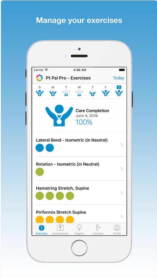 Medical Android and iPhone Apps PT Pal Pro