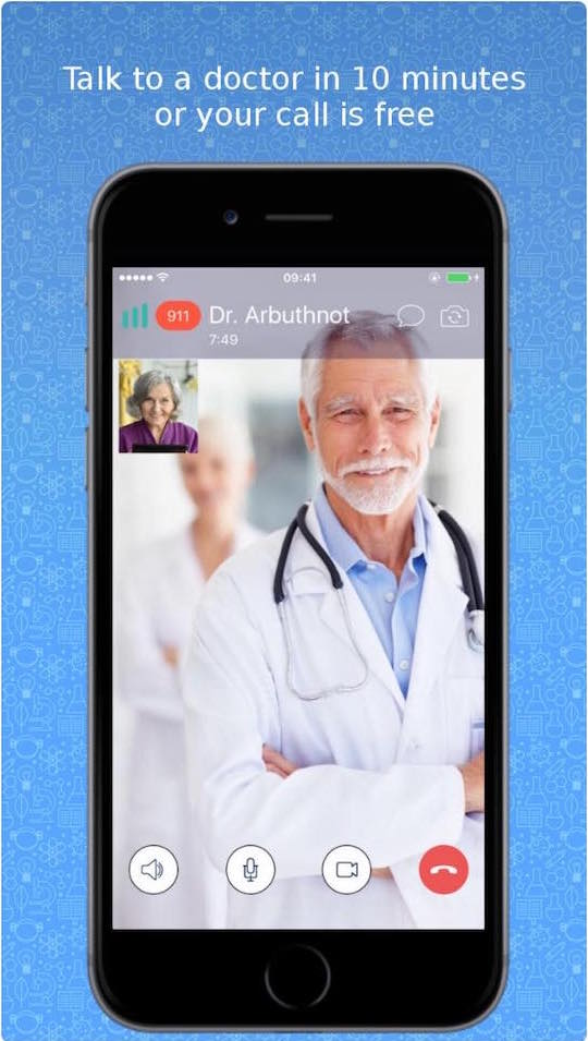 DocChat Medical Android and iPhone Apps
