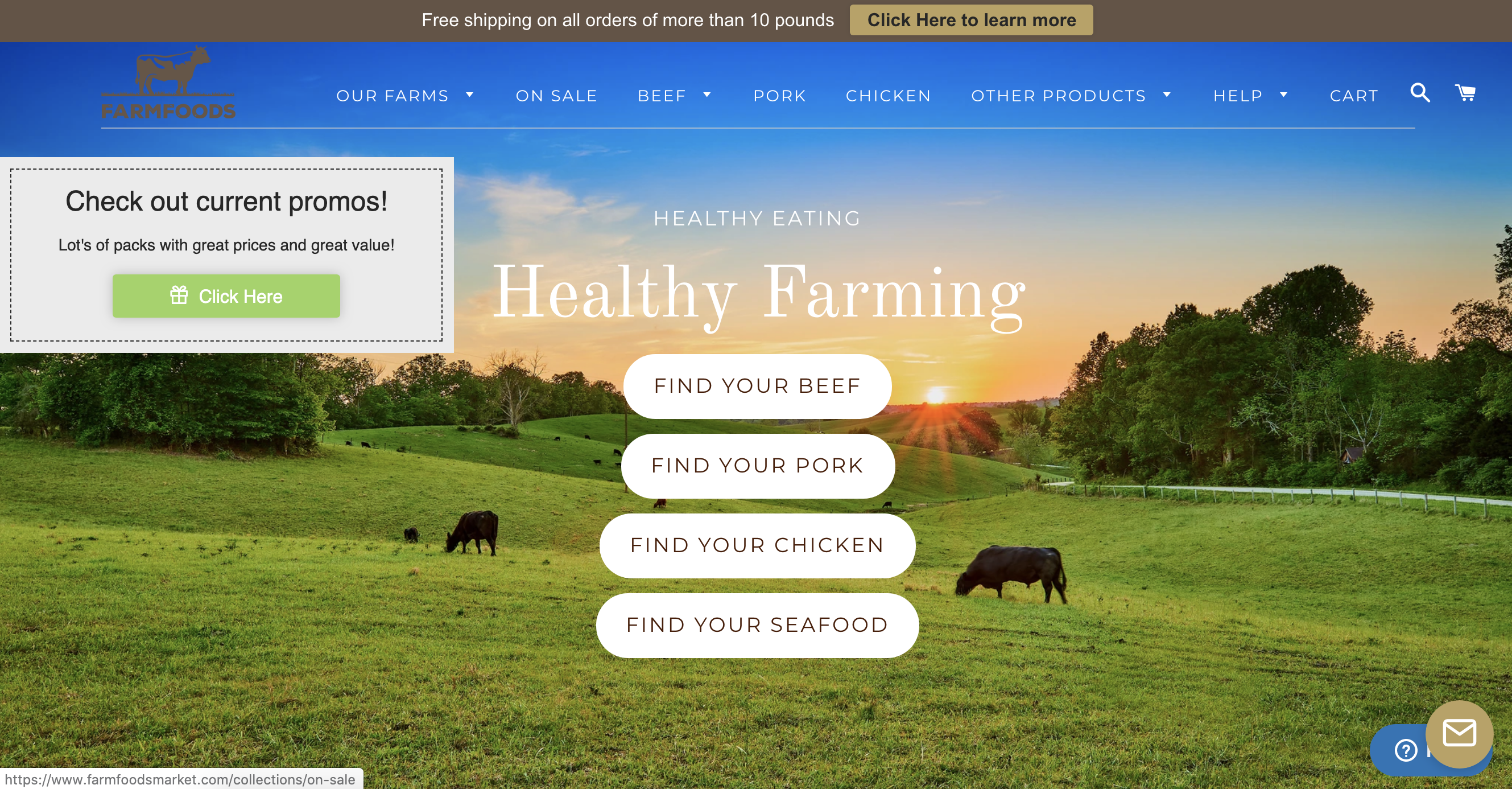 FarmFoods meats